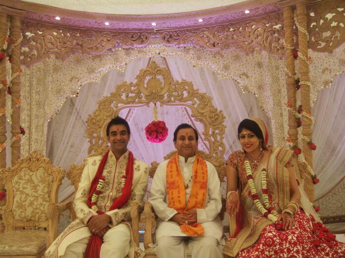 Hindu Wedding Priest