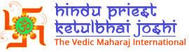 Hindu Priest Ketul Joshi-header logo